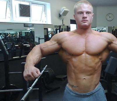 James Hollingshead British Junior Bodybuilding Champion 2009